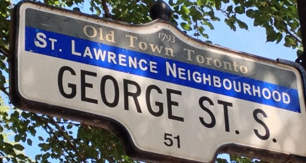 George Street South sign