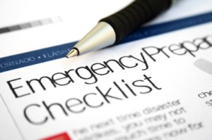 preparedness checklist graphic